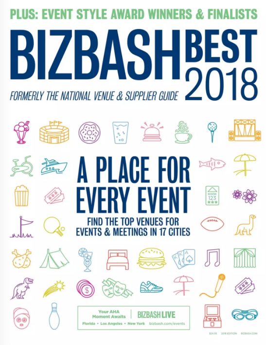 """Front of Biz Bash 2018 """"Best of"""" issue."""