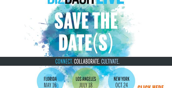 Biz Bash Live Save the Dates Logo.