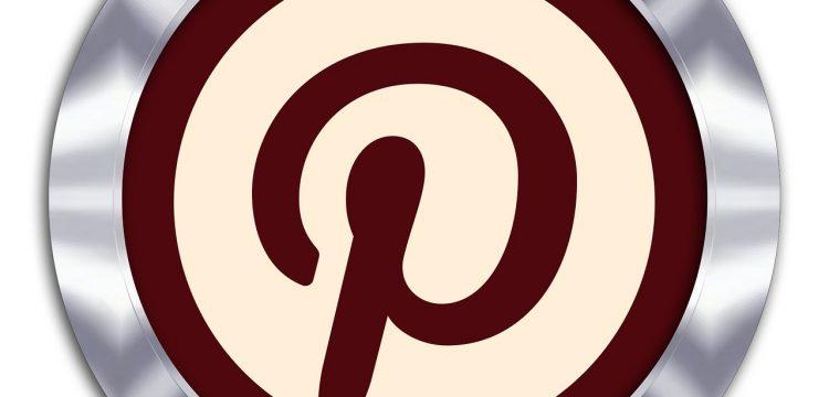 Pinterest symbol.