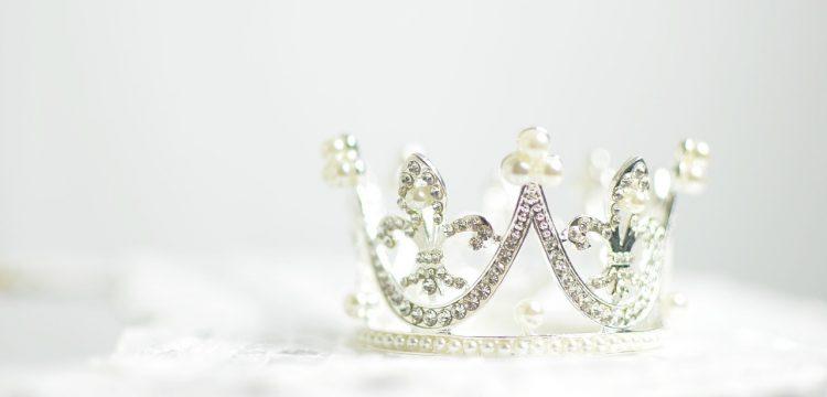 A small diamond tiara.