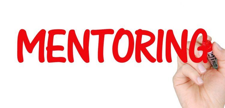 """Written word """"Mentoring""""."""