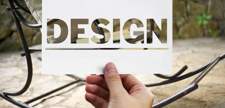 "The word ""design""."