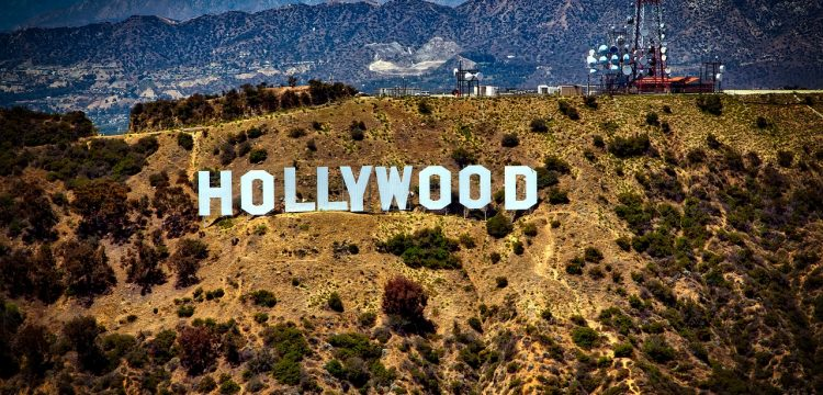 Hollywood sign.
