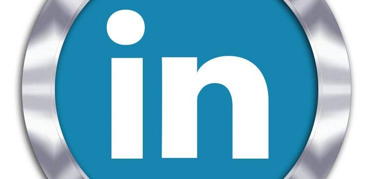 Logo for LinkedIn.