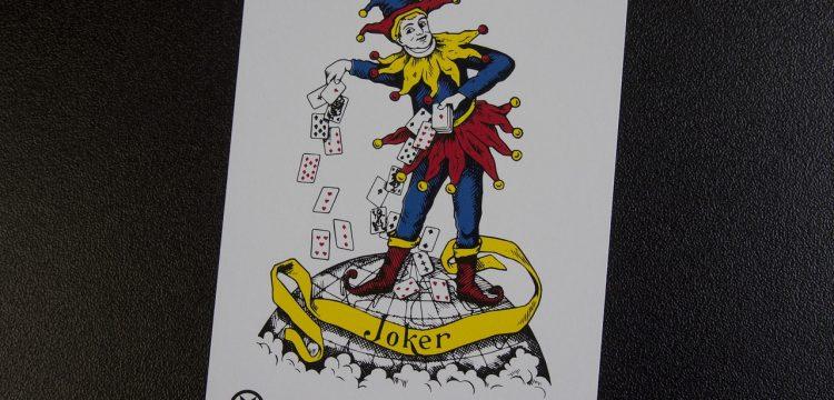 An image of a Joker playing card.
