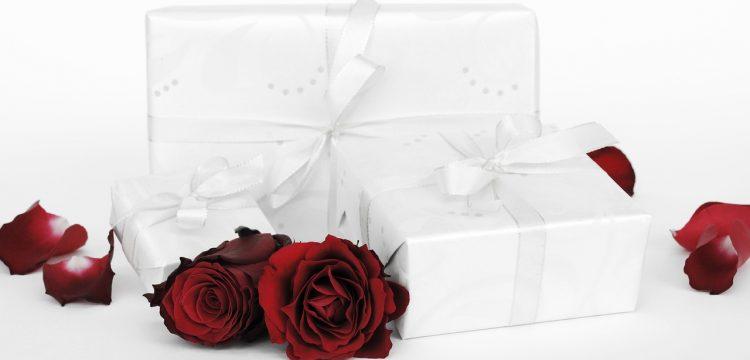 Wedding gift boxes.