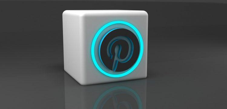 A Pinterest logo.