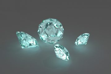 Four diamonds.