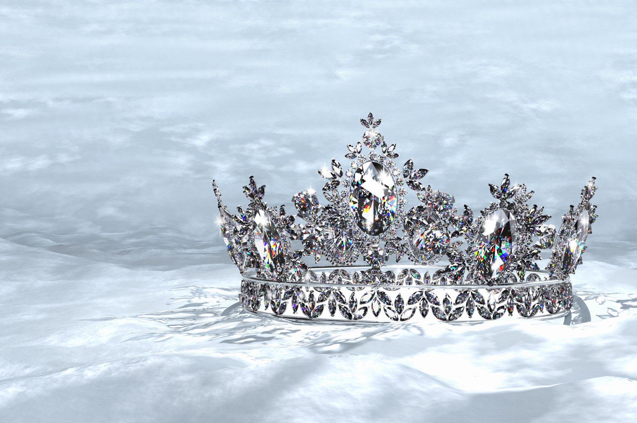 A diamond tiara.