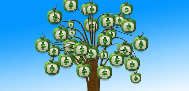 Money growing on a tree.