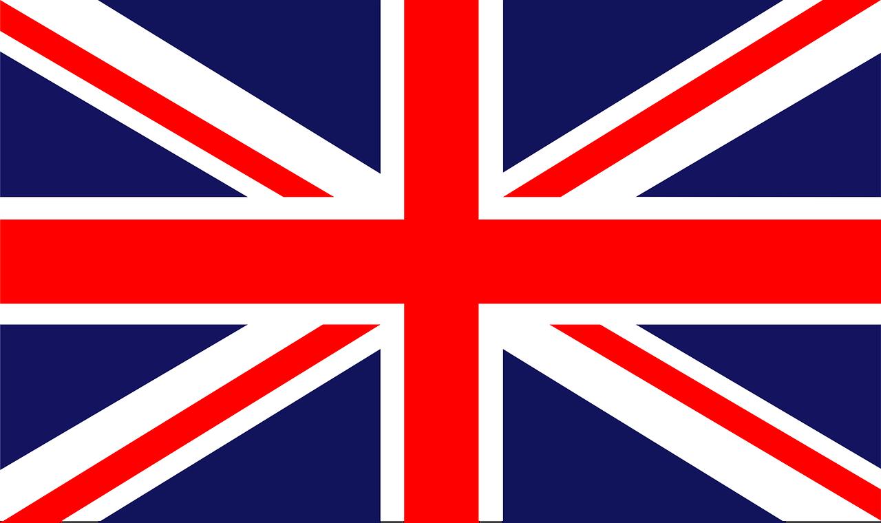 British flag.