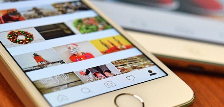 Instagram site.