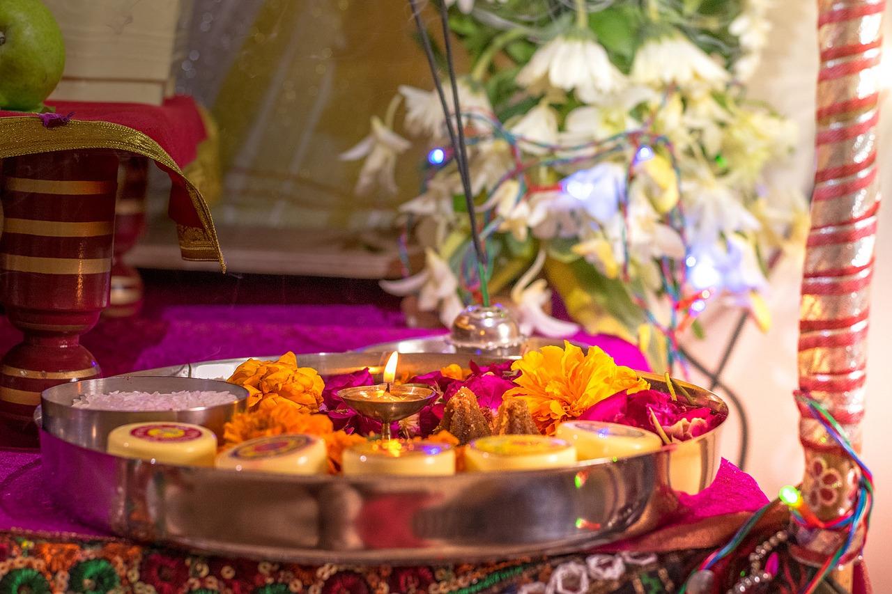 Hindu decor.