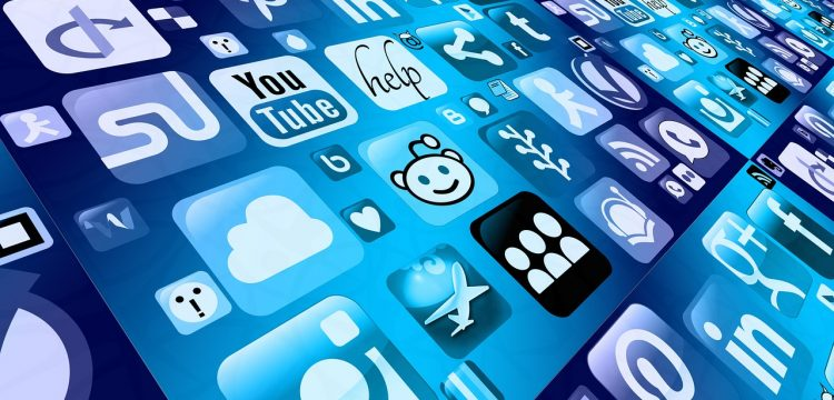 Digital marketing icons.