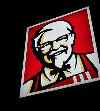 Colonel Sanders of KFC.