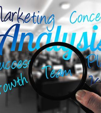 Marketing analysis graphic.