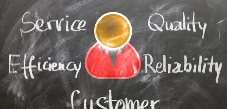 Customer service graphic.
