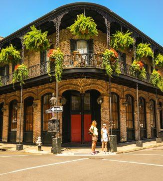 French Quarter, New Orleans.