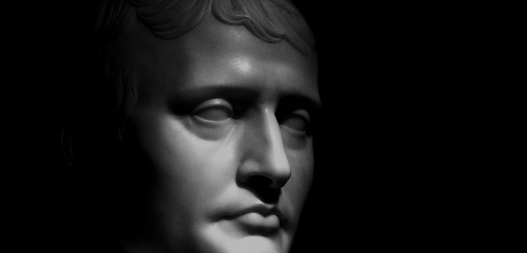 A bust of Napoleon.