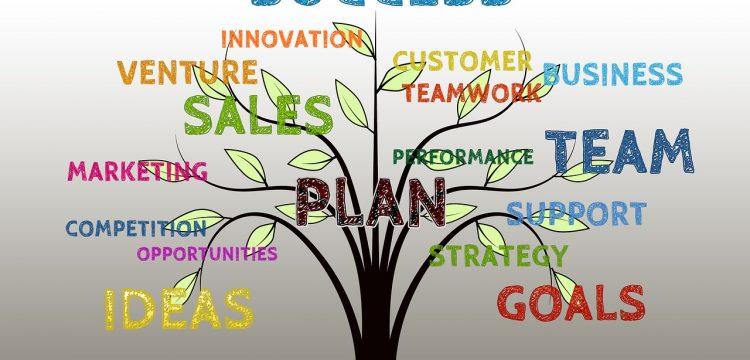 Sales graphic.