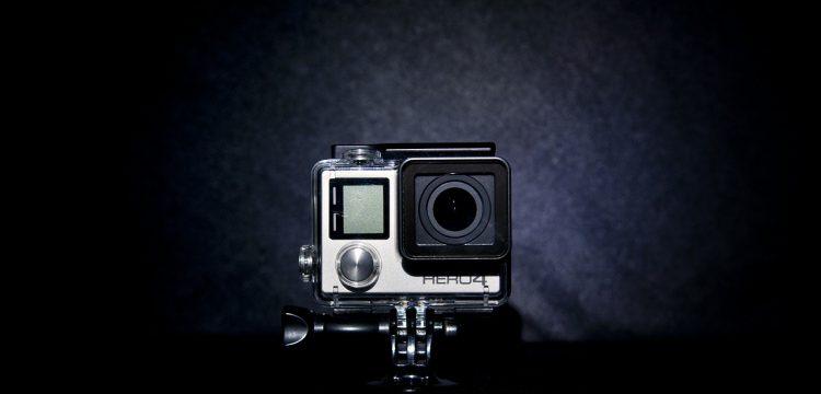 GoPro camera.