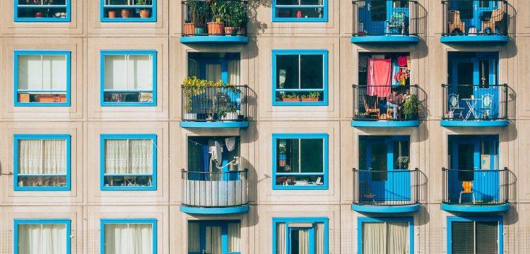 Balconies.