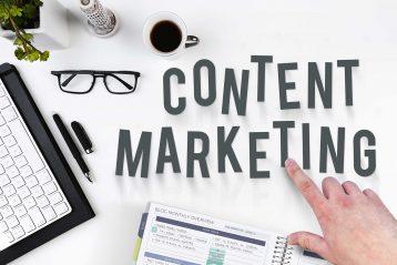 Content Marketing graphic.