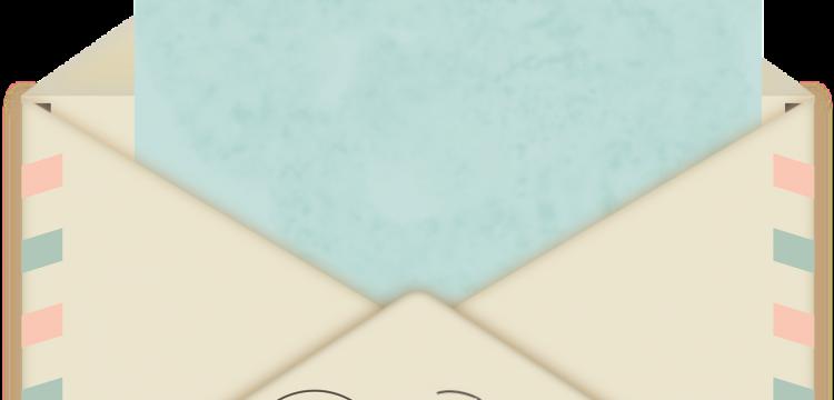 Snail mail.