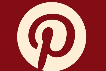 Pinterest logo.