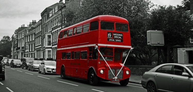 Double decker bus.