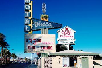 Las Vegas wedding sign.