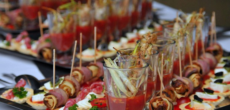 Buffet or grazing table.