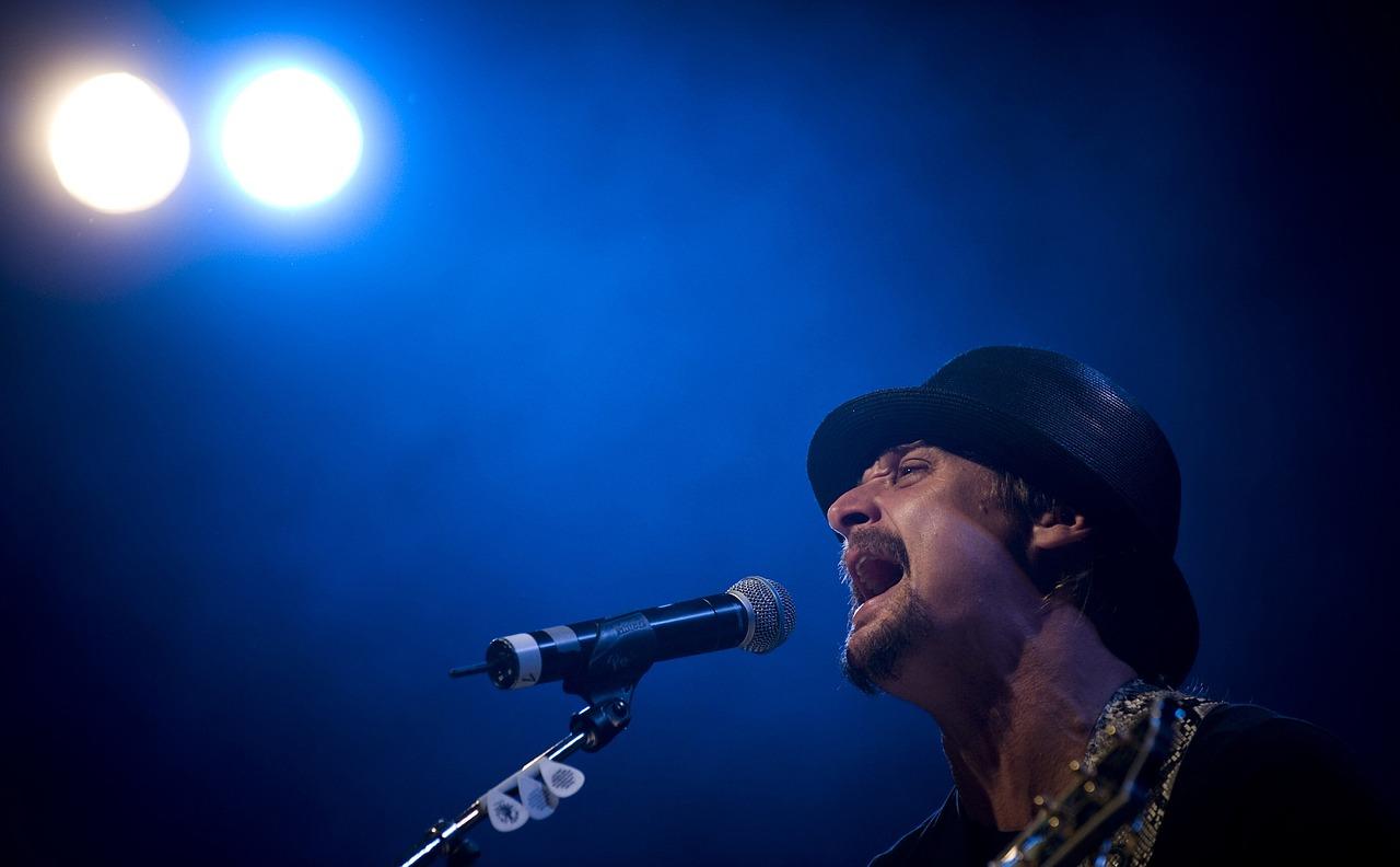Kid Rock singing.