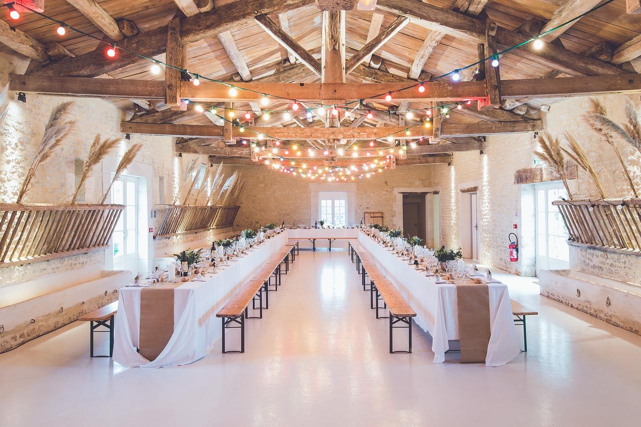 Wedding reception venue.