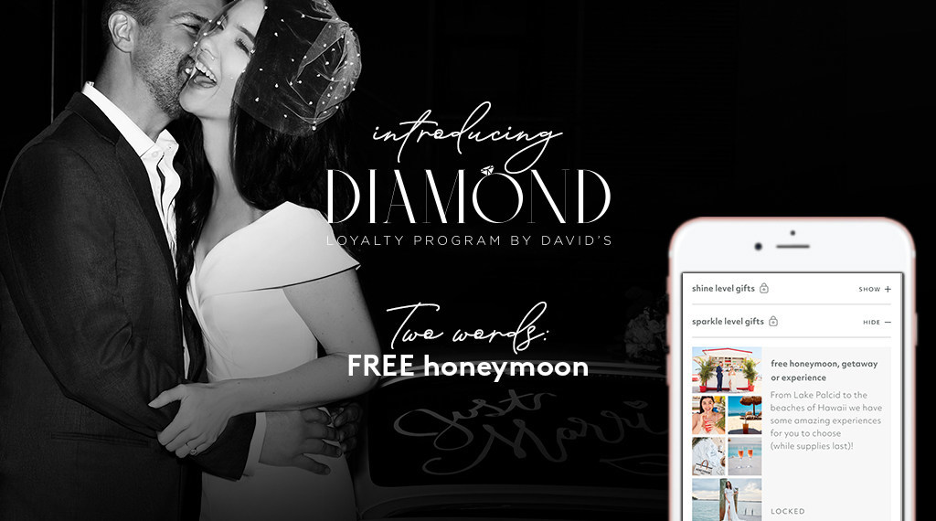 David's Bridal Diamond Loyalty Program.