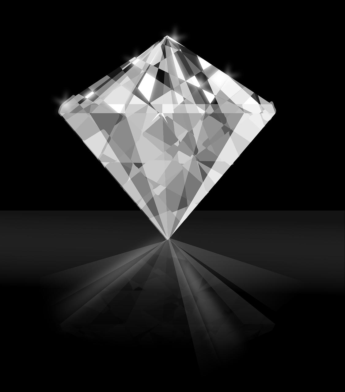 A single diamond.