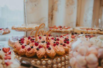 Fancy wedding reception table.