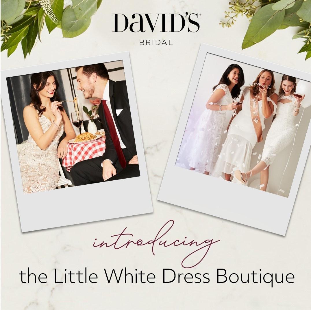 David's Bridal Announces the Launch of The Little White Dress ...