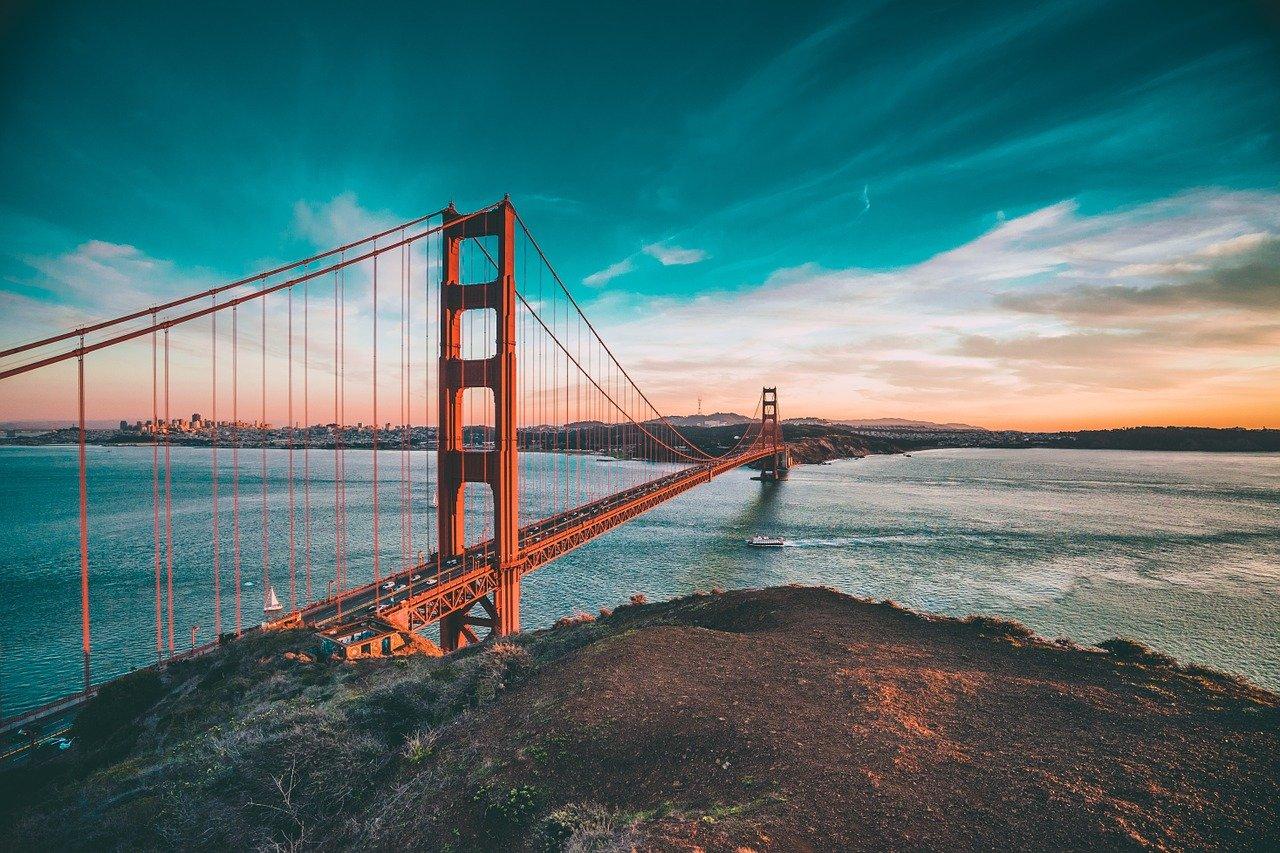 San Francisco bridge.