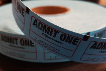 A roll of tickets.