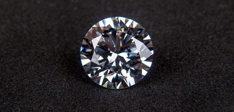A diamond solitaire.