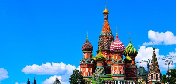 Buildings in Russia.